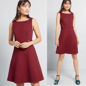 Modcloth Sixties Signature A-Line Dress NEW